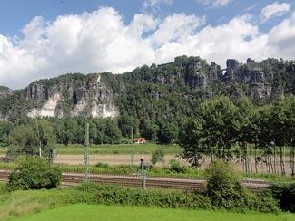 Basteibrücke bei Wehlen