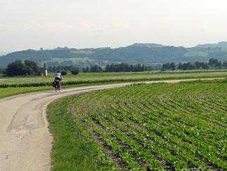Donau, Felder