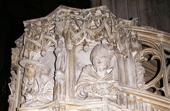 Kanzel im Stephansdom